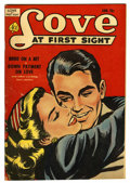 "Golden Age (1938-1955):Romance, Love at First Sight #13 Davis Crippen (""D"" Copy) pedigree (Ace,1952) Condition: VF-. Overstreet 2006 VF 8.0 value = $37...."