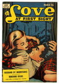 """Golden Age (1938-1955):Romance, Love at First Sight #14 Davis Crippen (""""D"""" Copy) pedigree (Ace, 1952) Condition: VF/NM. Overstreet 2006 VF/NM 9.0 value = $4..."""