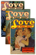 Golden Age (1938-1955):Romance, Love at First Sight Group (Ace, 1951-53). Issues include #8 (VG-condition), #18 (VG condition), and #23 (FN condition). Iss...(Total: 3 Comic Books)
