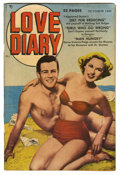 "Golden Age (1938-1955):Romance, Love Diary #2 Davis Crippen (""D"" Copy) pedigree (Quality, 1949)Condition: FN+. Bernie Krigstein art. Partial photo cover. O..."