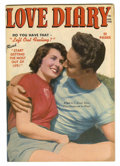 "Golden Age (1938-1955):Romance, Love Diary #7 Davis Crippen (""D"" Copy) pedigree (Quality, 1950)Condition: VF/NM. Photo cover. Overstreet 2006 VF/NM 9.0 val..."