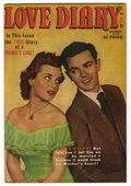 "Golden Age (1938-1955):Romance, Love Diary #11 Davis Crippen (""D"" Copy) pedigree (Quality, 1950)Condition: VF/NM. Photo cover. Overstreet 2006 VF/NM 9.0 va..."