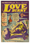 "Golden Age (1938-1955):Romance, Love Diary #31 Davis Crippen (""D"" Copy) pedigree (Quality, 1952)Condition: VF. John Buscema headlights cover. Nice cover in..."