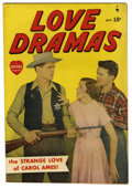 "Golden Age (1938-1955):Romance, Love Dramas #1 Davis Crippen (""D"" Copy) pedigree (Marvel, 1949)Condition: FN. Jack Kamen art. Photo cover. Overstreet 2006 ..."