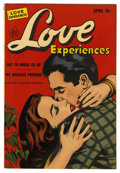 "Golden Age (1938-1955):Romance, Love Experiences #12 Davis Crippen (""D"" Copy) pedigree (Ace, 1952)Condition: VF. Overstreet 2006 VF 8.0 value = $31. From..."