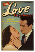 "Golden Age (1938-1955):Romance, Love Experiences #15 Davis Crippen (""D"" Copy) pedigree (Ace, 1952)Condition: VF+. Photo cover. Anne Brewster art. Overstree..."