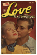 "Golden Age (1938-1955):Romance, Love Experiences #16 Davis Crippen (""D"" Copy) pedigree (Ace, 1952)Condition: VG. Photo cover. Overstreet 2006 VG 4.0 value ..."