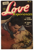 "Golden Age (1938-1955):Romance, Love Experiences #17 Davis Crippen (""D"" Copy) pedigree (Ace, 1953) Condition: VF/NM. Photo cover. Overstreet 2006 VF/NM 9.0 ..."
