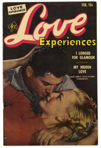 """Love Experiences #17 Davis Crippen (""""D"""" Copy) pedigree (Ace, 1953) Condition: VF/NM. Photo cover. Overstreet 2..."""