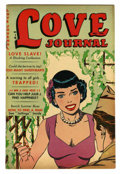 "Golden Age (1938-1955):Romance, Love Journal #20 Davis Crippen (""D"" Copy) pedigree (Our Publishing Co., 1953) Condition: VF+. Stories include ""Love Slave"" a..."