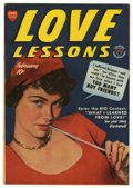 "Golden Age (1938-1955):Romance, Love Lessons #3 Davis Crippen (""D"" Copy) pedigree (Harvey, 1950)Condition: VF/NM. Photo cover. Overstreet 2006 VF/NM 9.0 va..."