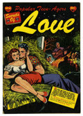 Golden Age (1938-1955):Romance, Popular Teen-Agers #10 (Star, 1952) Condition: FN. Begins subtitleSecrets of Love with this issue, going through #23. L...