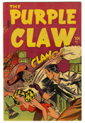 Golden Age (1938-1955):Horror, Purple Claw #1 Mile High pedigree (Minoan Publishing, 1953)Condition: FN+. Origin. Overstreet 2006 FN 6.0 value = $99; VF 8...