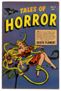 Golden Age (1938-1955):Horror, Tales of Horror #11 (Toby Publishing, 1954) Condition: FN-. MyronFass cover art. Overstreet 2006 FN 6.0 value = $66. From...
