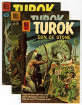 Silver Age (1956-1969):Adventure, Turok Group (Dell/Gold Key, 1960-64) Condition: Average VG. Includes Turok (Dell series) #21, 23, 26, 27, 28, and 29. an... (Total: 11 Comic Books)