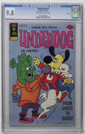 Bronze Age (1970-1979):Cartoon Character, Underdog #9 File Copy (Gold Key, 1976) CGC NM/MT 9.8 Off-white towhite pages. Overstreet 2006 NM- 9.2 value = $45. CGC cens...