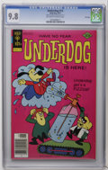 Bronze Age (1970-1979):Cartoon Character, Underdog #13 File Copies (Gold Key, 1977) CGC NM/MT 9.8 Off-whiteto white pages. First appearance of the Shack of Solitude....