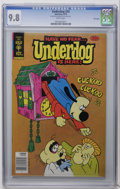 Bronze Age (1970-1979):Cartoon Character, Underdog #20 File Copy (Gold Key, 1978) CGC NM/MT 9.8 White pages.Overstreet 2006 NM- 9.2 value = $35. CGC census 9/06: 1 i...