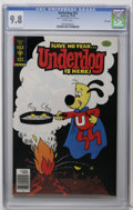 Bronze Age (1970-1979):Cartoon Character, Underdog #22 File Copy (Gold Key, 1978) CGC NM/MT 9.8 White pages.Overstreet 2006 NM- 9.2 value = $38. CGC census 9/06: 3 i...