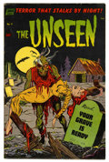 Golden Age (1938-1955):Horror, The Unseen #9 Mile High pedigree (Standard, 1953) Condition: FN.Jack Katz art. Overstreet 2006 FN 6.0 value = $93. From t...