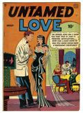 Golden Age (1938-1955):Romance, Untamed Love #1 (Quality, 1950) Condition: VG+. Bill Ward cover.Paul Gustavson art. Overstreet 2006 VG 4.0 value = $52. F...