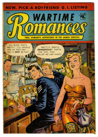 "Wartime Romances #17 Davis Crippen (""D"" Copy) pedigree (St. John, 1953) Condition: VG/FN. Matt Baker cover art..."