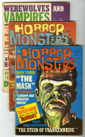 Magazines:Miscellaneous, Miscellaneous Horror and Comics Magazines Group (Various, 1961-82)Condition: Average VF-. Includes Horror Monsters #2 a...