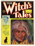 """Pulps:Miscellaneous, The Witch's Tales Pulp #1 (Carwood, 1936) Condition: VG+. Tie-in publication to the famous radio program """"The Witch's Tale"""",..."""