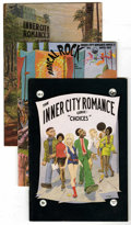 Bronze Age (1970-1979):Alternative/Underground, Inner City Romance Comics Group (Last Gasp, 1972-77). Writer/artist Guy Colwell's provocative series is noted for its inter-... (Total: 4 Comic Books)