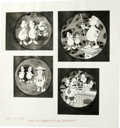 """Original Comic Art:Sketches, Bob Clarke - Mad Illustration Original Art, Group of 2 (EC, undated). Two fun-tastic pages of the Bob Clarke bit, """"A Mad Loo... (Total: 2 Items)"""