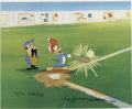 "Animation Art:Limited Edition Cel, ""Woody Gets a Hit"" International Limited Edition Hand Painted Cel#14/25 Original Art (Walter Lantz Productions, 1992). This...(Total: 3 Items)"