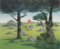 """Animation Art:Limited Edition Cel, """"In the Rough"""" International Limited Edition Hand-Painted Cel#15/25 Original Art, Signed by Walter Lantz (Walter Lantz Produc...(Total: 2 Items)"""
