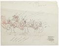 "Animation Art:Production Drawing, Paramount Cartoon Studios - ""Matty's Funday Funnies"" ProductionDrawing Original Art, Group of 2 (Harvey, 1959). Together wi...(Total: 2 Items)"