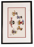 "Animation Art:Limited Edition Cel, Mickey Mouse Club Limited Edition Sericel (The Walt Disney Company,1995). This sericel, titled ""Hi, Mouseketeers!,"" recreat... (Total:2 Items)"