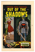 Original Comic Art:Miscellaneous, Out of the Shadows #14 Printer's Proof (Standard, 1954). Thisstrange, eerie, and terrifying color proof was used by the pri...