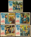 "Movie Posters:War, The Great Escape (United Artists, 1963). Lobby Cards (5) (11"" X13.5"" & 11"" X 14""). War.. ... (Total: 5 Items)"