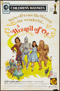 """The Wizard of Oz (MGM, R-1972). One Sheet (27"""" X 41""""). Fantasy"""