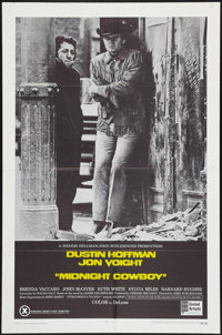 """Midnight Cowboy (United Artists, 1969). One Sheet (27"""" X 41""""). X-Rated Style. Academy Award Winners"""