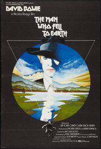 "The Man Who Fell to Earth (Lion International,1976). British One Sheet (27"" X 39.5""). Science Fiction"