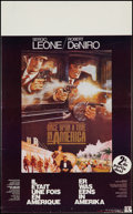 """Movie Posters:Crime, Once Upon a Time in America (Warner Brothers, 1984). Belgian Poster (13.5"""" X 22""""). Crime.. ..."""