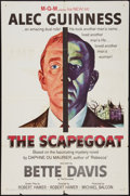 "Movie Posters:Mystery, The Scapegoat (MGM, 1959). One Sheet (27"" X 41""). Mystery.. ..."