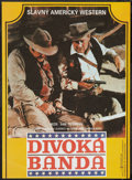 "Movie Posters:Western, The Wild Bunch (Lucernafilm, 1991). Czechoslovakian Poster (11.5"" X 15.5""). Western.. ..."