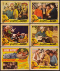 """Movie Posters:Western, Springtime in the Rockies (Republic, R-1940s). Title Lobby Card& Lobby Cards (5) (11"""" X 14""""). Western.. ... (Total: 6 Items)"""