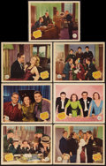 "Movie Posters:Comedy, Manhattan Merry-Go-Round (Republic, 1937). Lobby Cards (7) (11"" X 14""). Comedy.. ... (Total: 7 Items)"