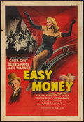 "Movie Posters:Comedy, Easy Money (Eagle-Lion, 1948). British One Sheet (27"" X 40"").Comedy.. ..."