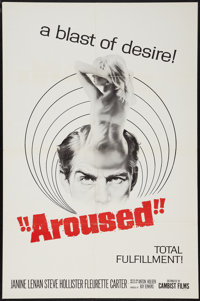 "Aroused (Cambist Films, 1966). One Sheet (27"" X 41""). Thriller"