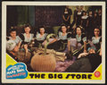 """Movie Posters:Comedy, The Big Store (MGM, 1941). Lobby Card (11"""" X 14""""). Comedy.. ..."""