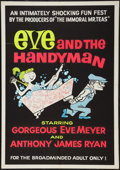 "Movie Posters:Sexploitation, Eve and the Handyman (Pad-Ram Enterprises, 1961). Silk Screen Day-Glo One Sheet (30"" X 42.5""). Sexploitation.. ..."