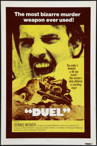 "Duel (Universal, 1972). International One Sheet (27"" X 41"") Flat Folded. Action"