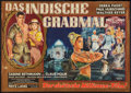 "Movie Posters:Adventure, Journey to the Lost City (Gloria, 1959). German A0 (33"" X 46"").Adventure.. ..."